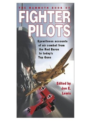 cover image of The Mammoth Book of Fighter Pilots