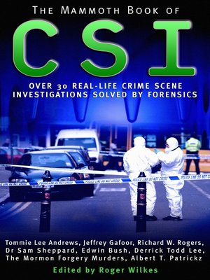 cover image of The Mammoth Book of CSI