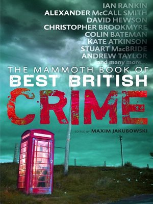 cover image of The Mammoth Book of Best British Crime 8