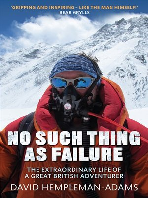 cover image of No Such Thing As Failure