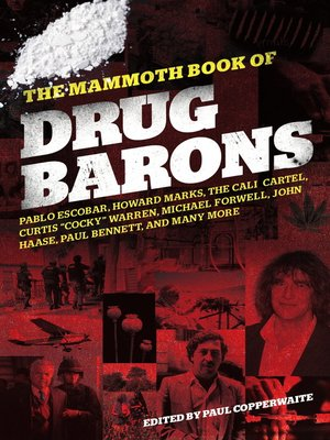 cover image of The Mammoth Book of Drug Barons