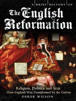cover image of A Brief History of the English Reformation