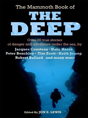 cover image of The Mammoth Book of The Deep