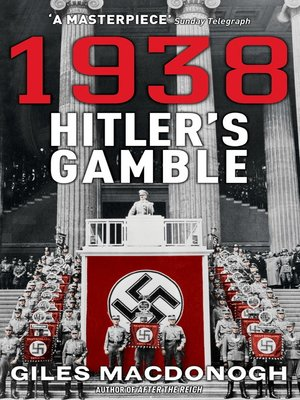 cover image of 1938--Hitler's Gamble