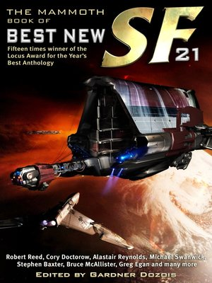 cover image of The Mammoth Book of Best New SF 21