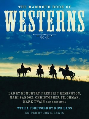 cover image of The Mammoth Book of Westerns
