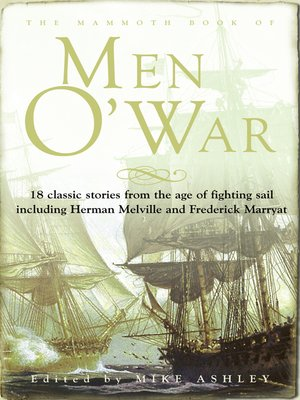 cover image of The Mammoth Book of Men O' War