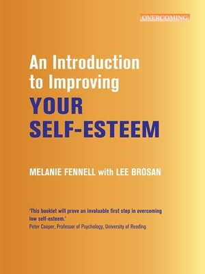 cover image of An Introduction to Improving Your Self-Esteem
