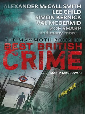 cover image of Mammoth Book of Best British Crime 11