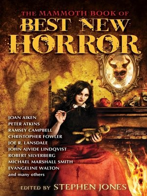 cover image of The Mammoth Book of Best New Horror 24
