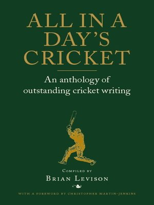 cover image of All in a Day's Cricket