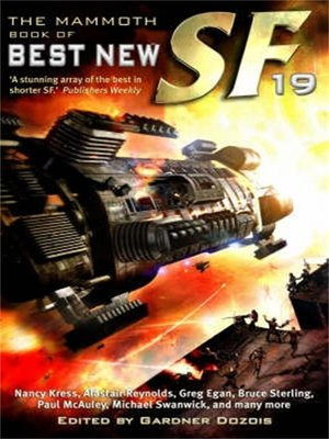 cover image of The Mammoth Book of Best New SF [19]
