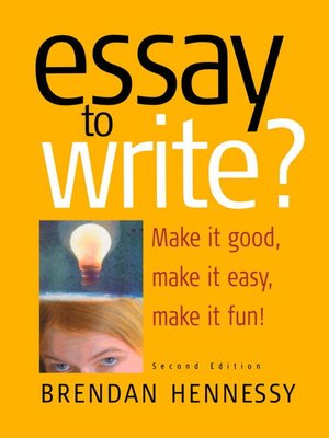 cover image of Essay to Write?