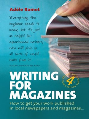 cover image of Writing for Magazines ()