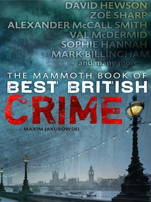 cover image of The Mammoth Book of Best British Crime 9