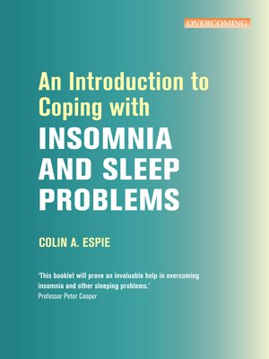 cover image of An Introduction to Coping with Insomnia and Sleep Problems