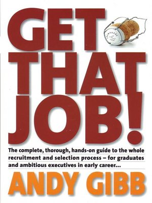 cover image of Get that Job!