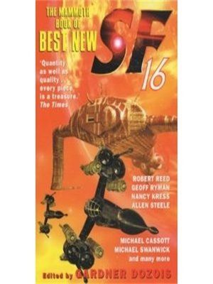 cover image of The Mammoth Book of Best New SF 16