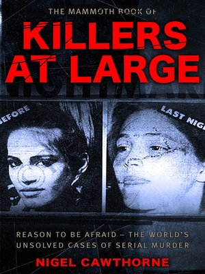 cover image of The Mammoth Book of Killers at Large