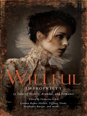 cover image of Wilful Impropriety