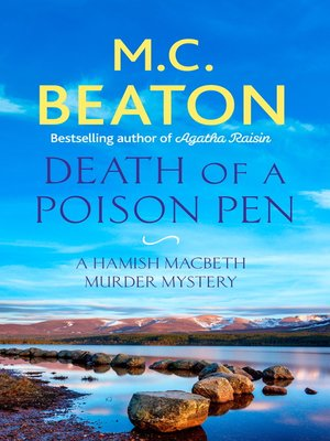 cover image of Death of a Poison Pen