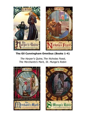 cover image of The Gil Cunningham Omnibus, Books 1 - 4