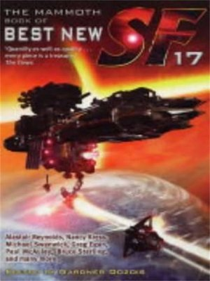 cover image of The Mammoth Book of Best New SF 17