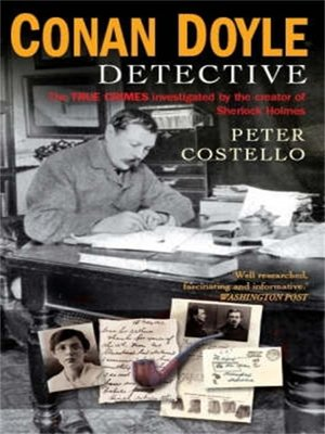 cover image of Conan Doyle, Detective