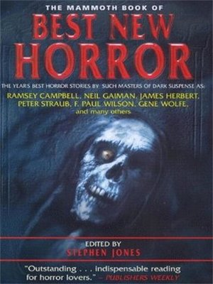 cover image of The Mammoth Book of Best New Horror 2000