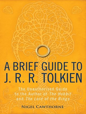 cover image of A Brief Guide to J. R. R. Tolkien