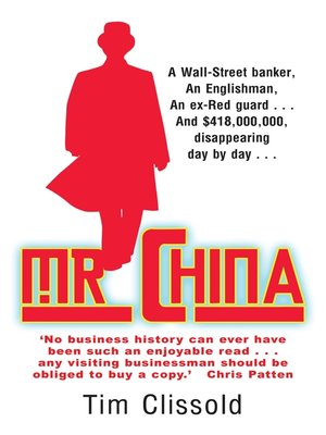 cover image of Mr. China