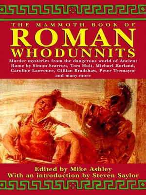 cover image of The Mammoth Book of Roman Whodunnits