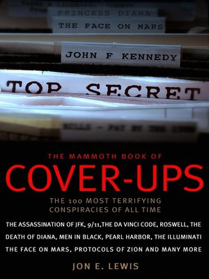 cover image of The Mammoth Book of Cover-Ups