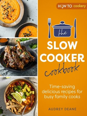 cover image of The Slow Cooker Cookbook