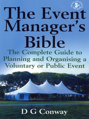 cover image of The Event Manager's Bible