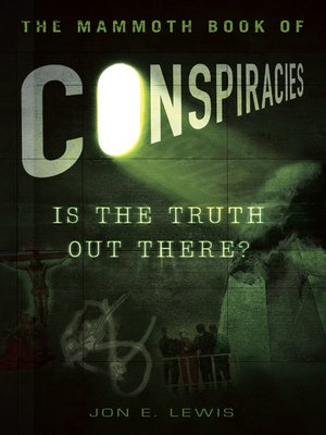 cover image of The Mammoth Book of Conspiracies