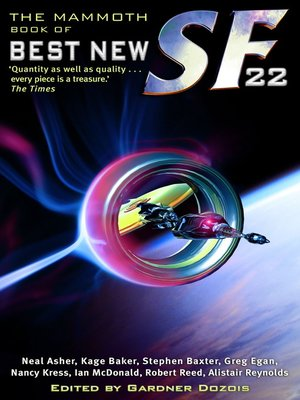 cover image of The Mammoth Book of Best New SF 22