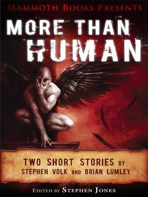 cover image of Mammoth Books Presents More Than Human