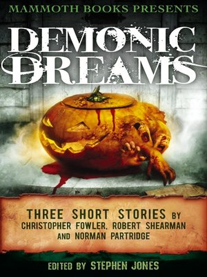 cover image of Mammoth Books Presents Demonic Dreams