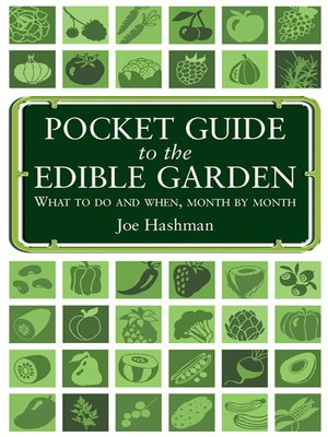 cover image of Pocket Guide to the Edible Garden
