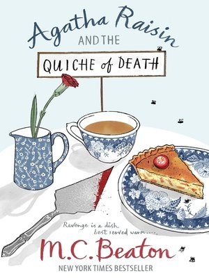 cover image of Agatha Raisin and the Quiche of Death