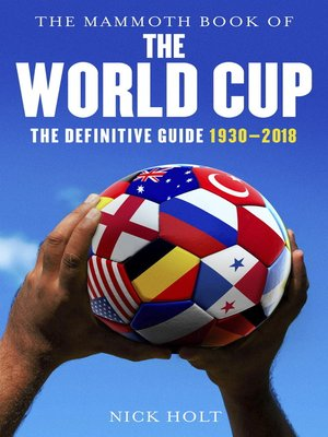 cover image of Mammoth Book of the World Cup