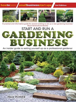 cover image of Start and Run a Gardening Business