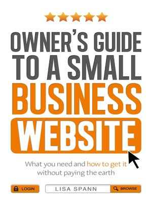 cover image of Owner's Guide to the Small Business Website