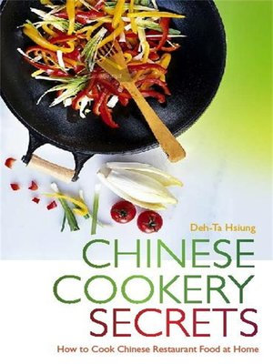 cover image of Chinese Cookery Secrets