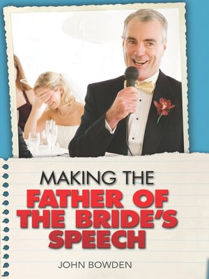 cover image of Making the Father of the Bride's Speech