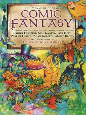 cover image of The Mammoth Book of Comic Fantasy