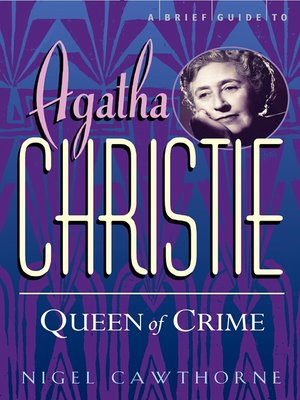 cover image of A Brief Guide to Agatha Christie