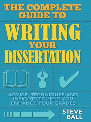 cover image of The Complete Guide to Writing Your Dissertation