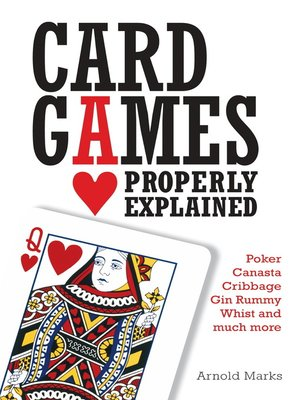 cover image of Card Games Properly Explained
